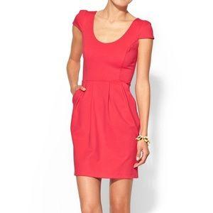 Amanda Uprichard Hillary Ponte Knit Dress